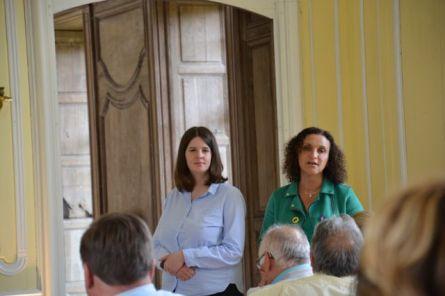 Juliette de Causans et Nadia Armogathe (co-Présidentes Eurocratia)